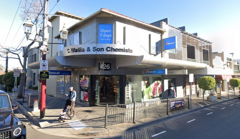 The current site at the corner of 424-426 Toorak Road and 109 Mathoura Road. Source: Google Maps