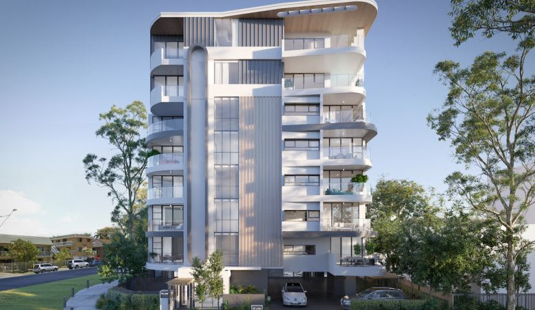 The modern Picasso development. Image supplied