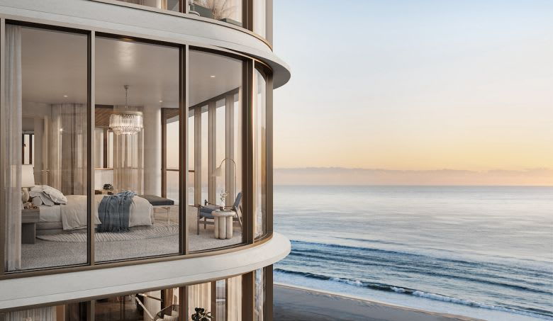 The view from Sur Kirra Beach. Image supplied