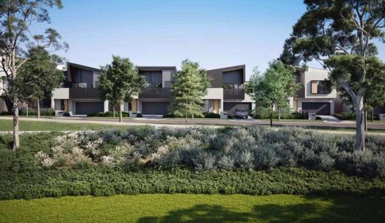 Burwood Brickworks' Park Crescent homes