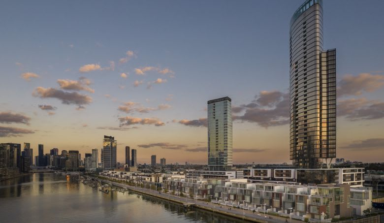 The recently completed Voyager in Yarra's Edge. Image supplied