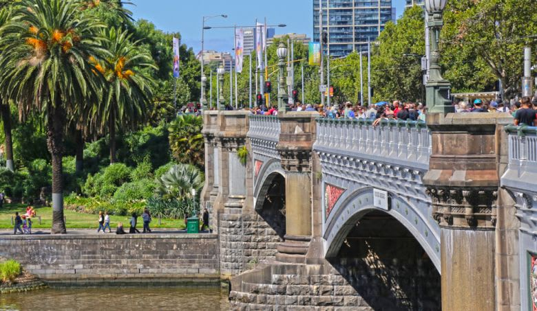 Today in History: Laying of the foundation stone for Princes Bridge