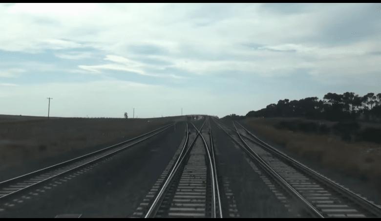 The full Regional Rail Link in driver's eye view - timelapse