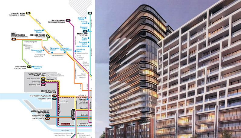 Melbourne's development by tram: the 59