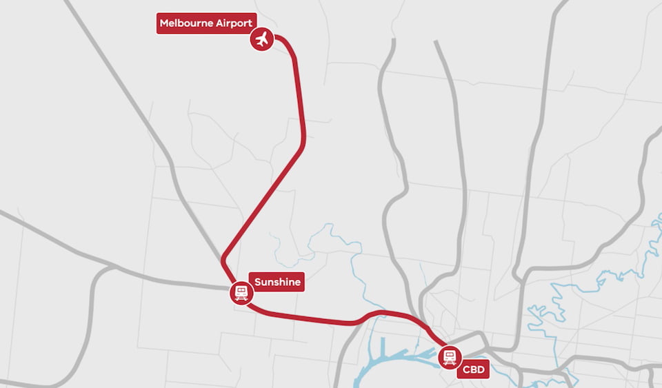 Victorian Government commits to Sunshine-Albion corridor for Melbourne Airport Rail Link