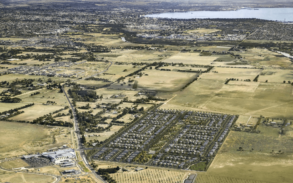 Construction begins on master-planned community in Geelong's Armstrong Creek