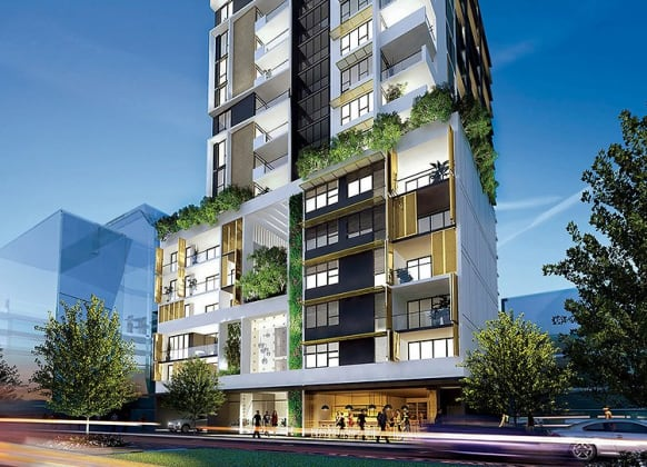 Verdant 78 Stirling St Perth Apartments Urban