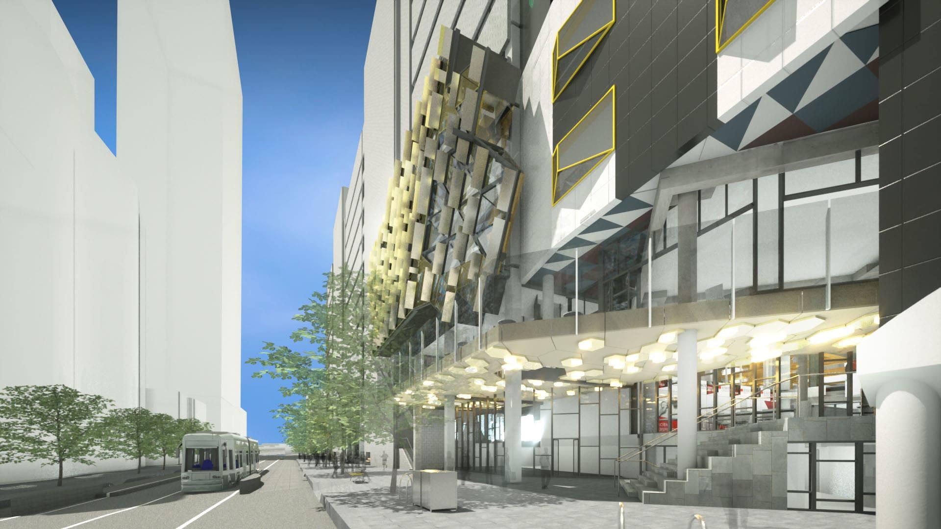 RMIT's New Academic Street © RMIT University