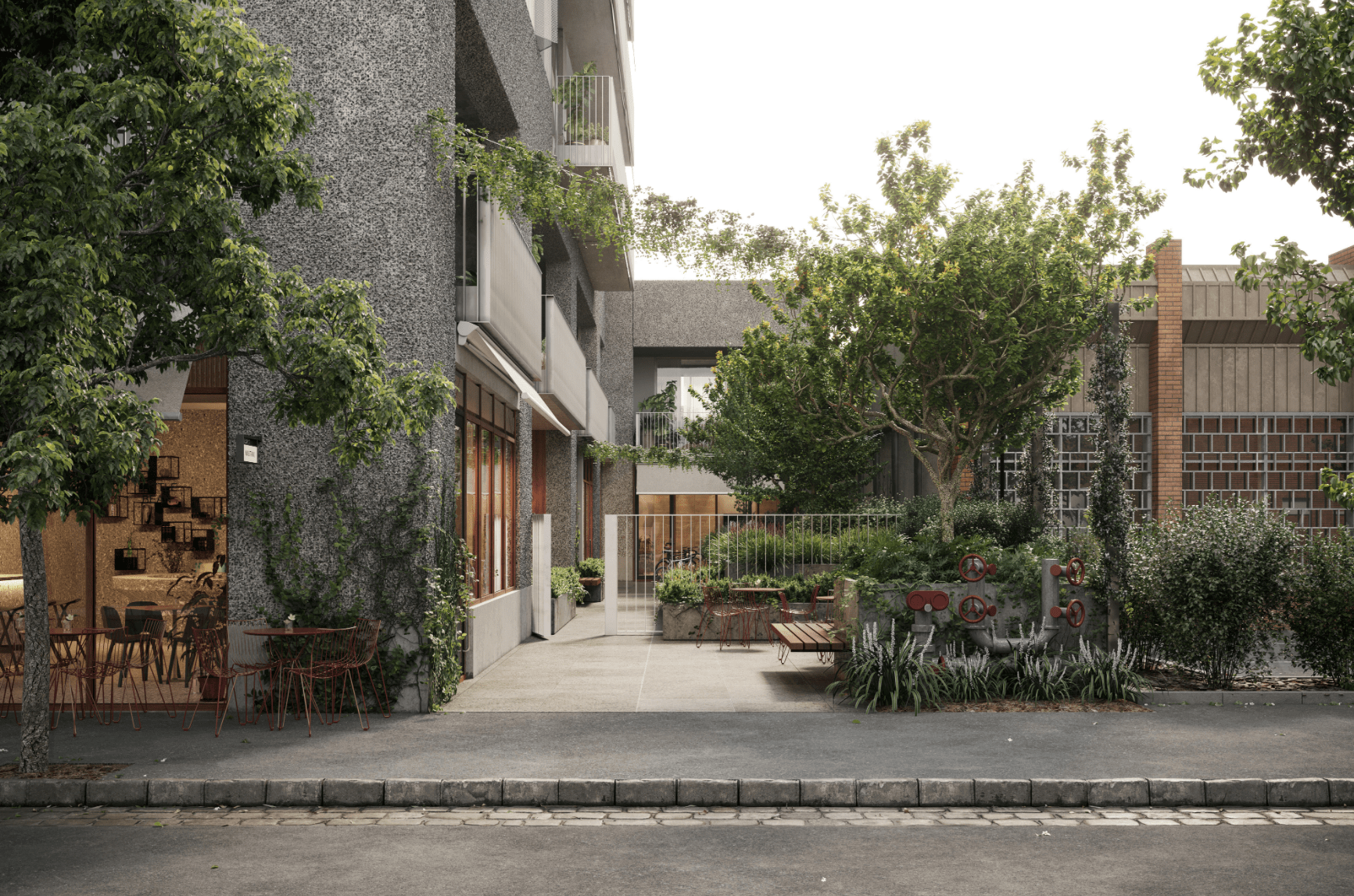 Melbourne apartment of the week: One Wilson Ave, Brunswick