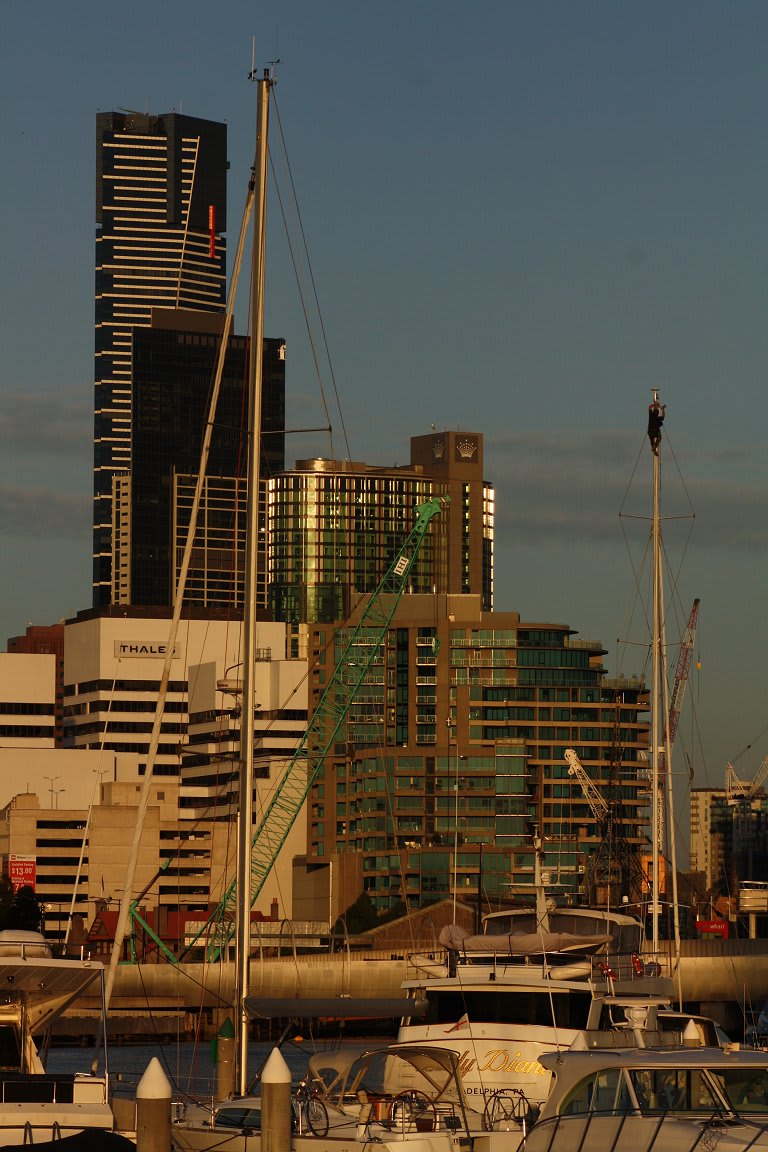 Watching the world go by @ Yarra's Edge