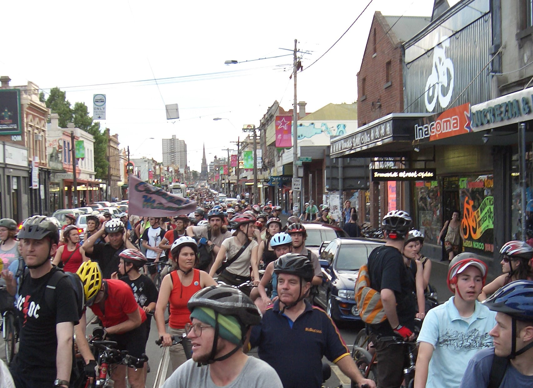Is it time to rethink on-street parking on tram routes in the City of Yarra?