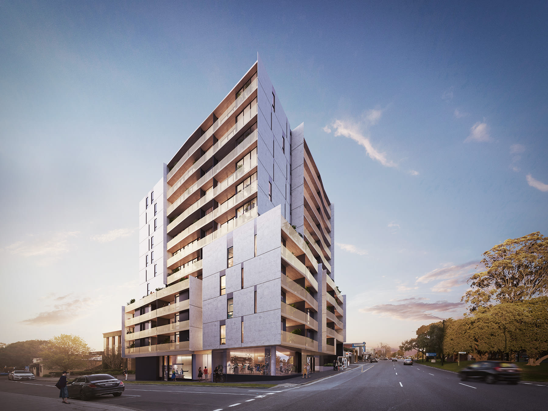 999 Box Hill adds to the suburb's growing residential stock