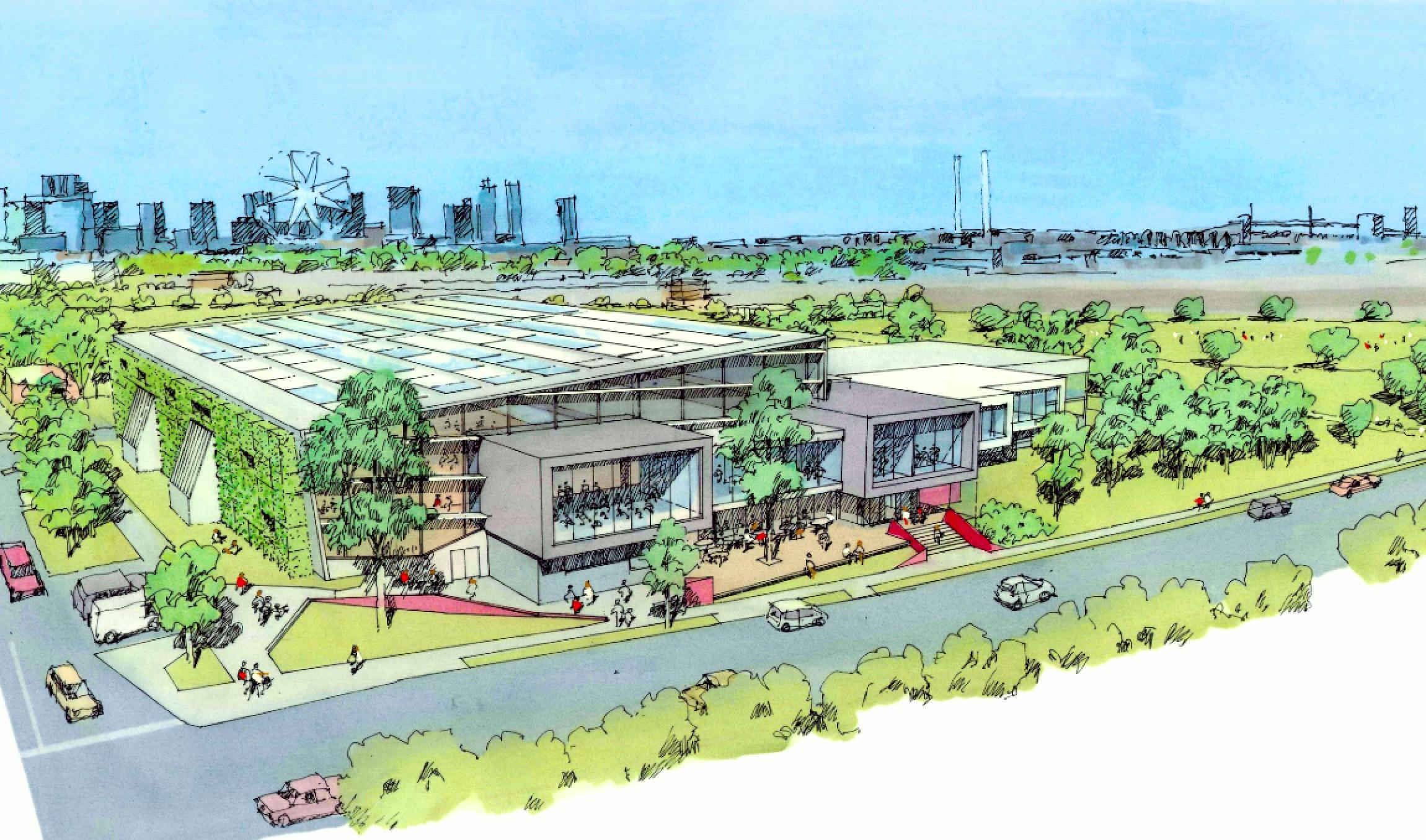 City of Melbourne releases latest concept designs for the Kensington Community Recreation Centre