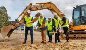 Folia commences construction after ceremonial ground-breaking event