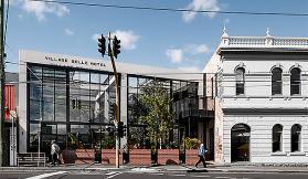 TILT and Technē shed some light on the Village Belle Hotel revamp