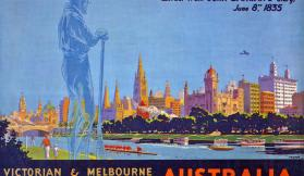 1934-35 Centenary of Victoria and Melbourne