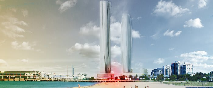 Blockhead Concept - Pier-ing into the future