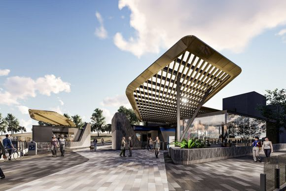 Designs unveiled for Mentone and Cheltenham Stations with work set to commence mid-year