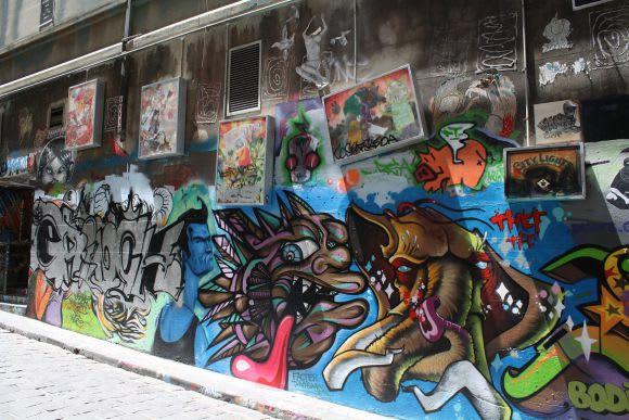 Hosier Lane, late 2012