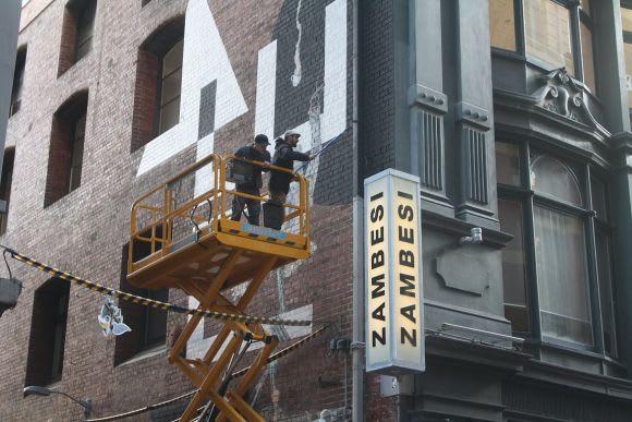 Paint It Black - Hosier Lane reborn