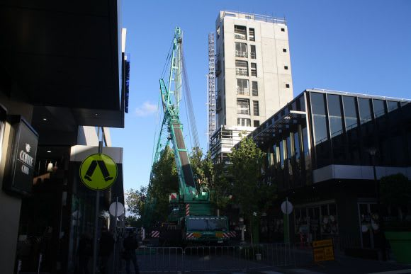 One9, Hall Street Moonee Ponds, 34 apartments, 5 days