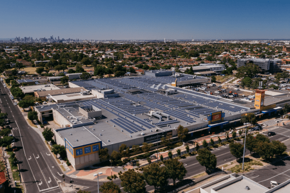 Sustainable future: Melbourne mall now features over 4000 solar panels