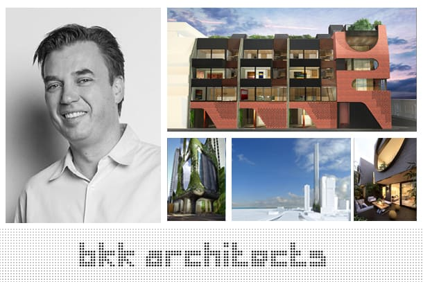 Discussing apartment living with BKK's Simon Knott