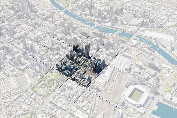 Urban Land Institute invites ideas for north-west corner of Melbourne CBD