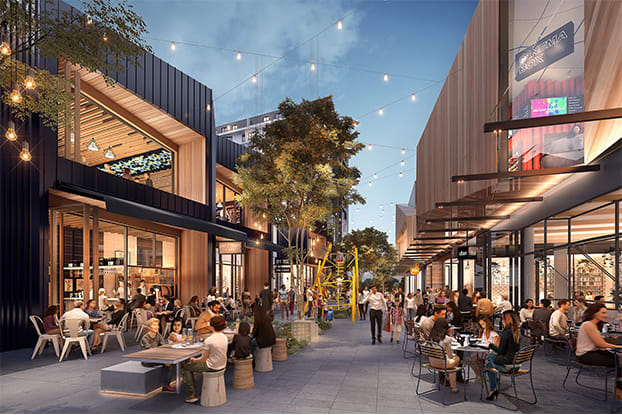 Probuild to Deliver Major Mixed-Use Development,  Ed.Square Town Centre, for Frasers Property Australia