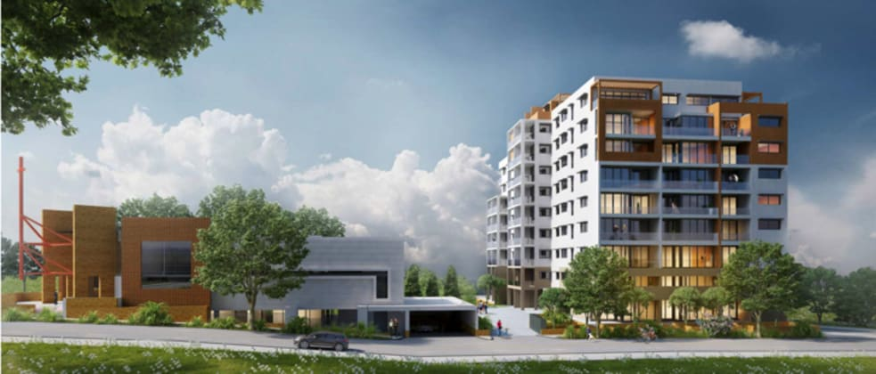 1-3 Pretoria Parade, Hornsby. planning image: Giles Tribe Architects