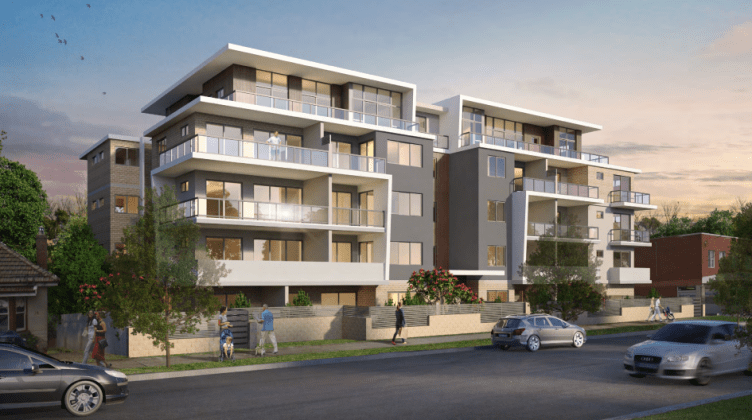 10-16 Station Street, Thornleigh. Planning image.