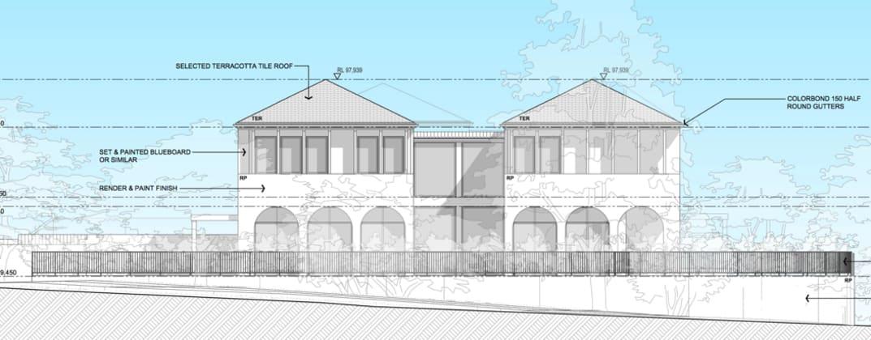 10 Bellevue Avenue, Greenwich. Planning Image: Chateau