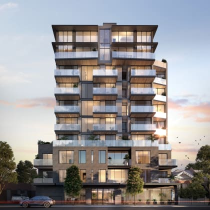 10 Lilydale Grove - 10-16 Lilydale Grove, Hawthorn East. Image: Apartmentworld