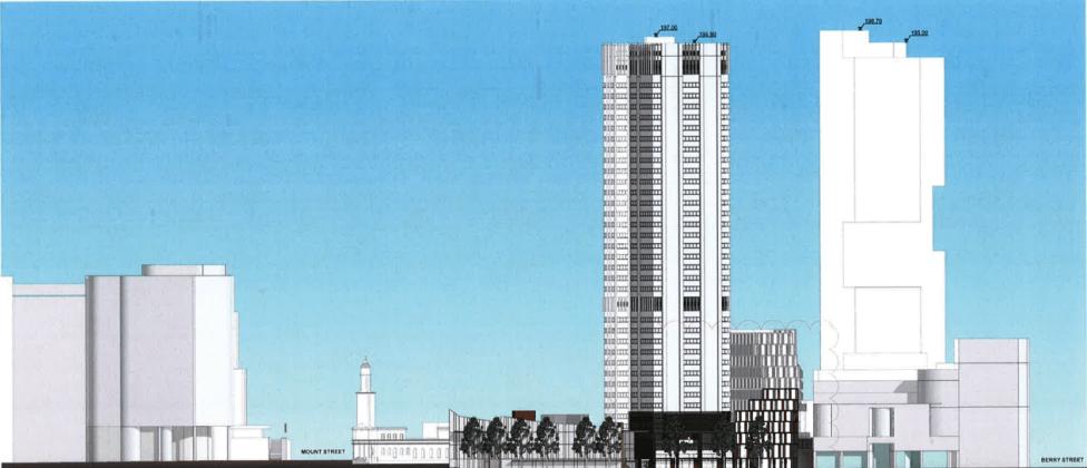 100 Miller Street, North Sydney. Planning Image: Rice Daubney