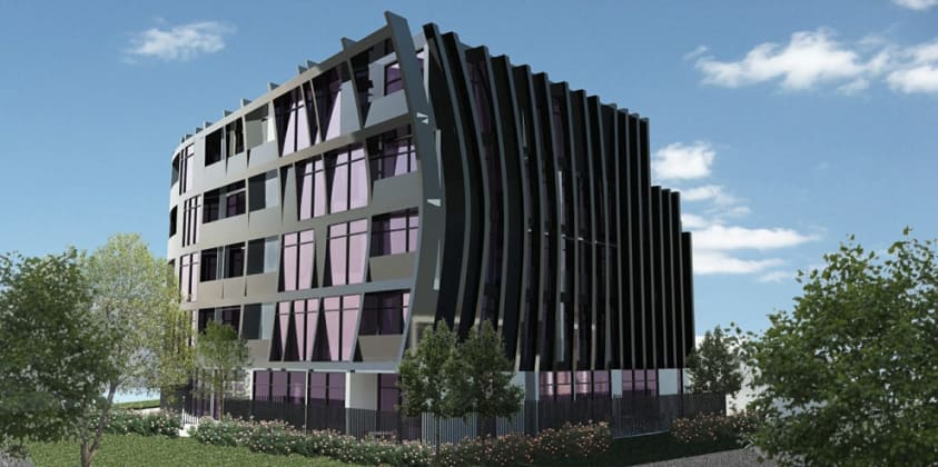 1009-1011 Dandenong Road, Malvern East. Image © Architects EAT