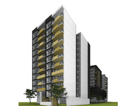 11-17 Cross Street, Bankstown. Planning Image: Marchese Partners