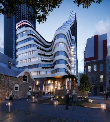 11-21 Bennetts Lane, Melbourne. Image: Perri Projects