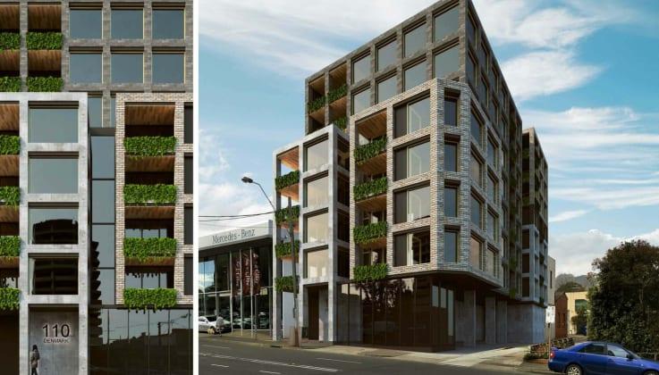 110 Denmark Street, Kew. Planning image: KUD