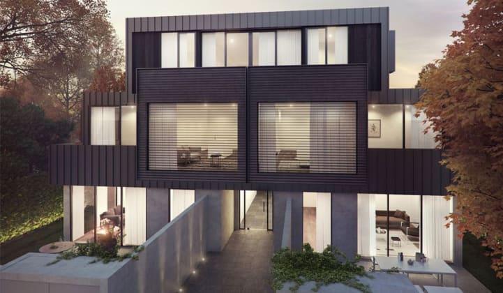 1101 Malvern Road, Toorak. Image: Carr Design