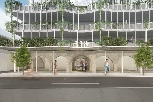 116-118 Lygon Street, Brunswick East. Image: Architects EAT