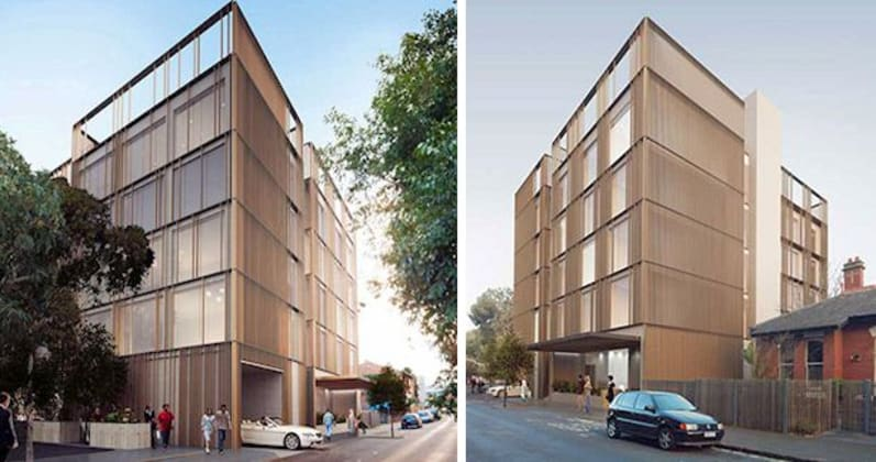 12-16 Belford Street, St Kilda. Image courtesy W Property Group