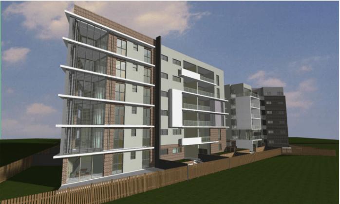 12-20 Tyler Street, Campbelltown. Planning Image: Designcorp