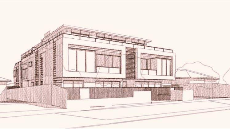 12 Camira Street, Malvern East. Planning image: JAM Architects