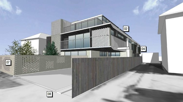 1375 Burke Road, Kew East. Image courtesy t-a square