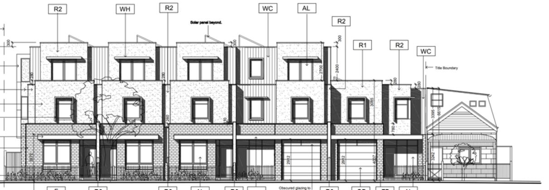 15-19 Clarke Street, Brunswick East. Planning Image: Walter Corsi Lunardi
