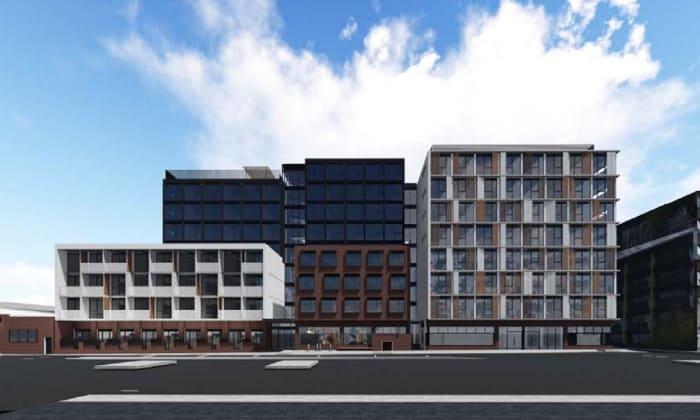 15-27 Wreckyn Street, North Melbourne. Planning image: Nettleton Tribe