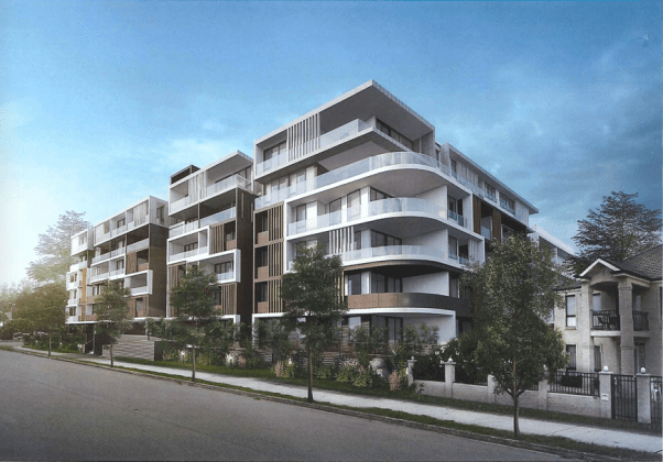 2-10 George Street, Seven Hills. Planning Image: Urban Link