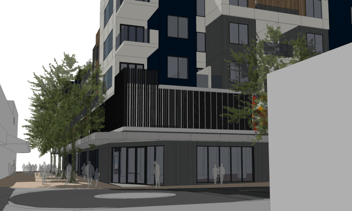 4-16 Clyde Street, Frankston. Image courtesy C & K Architecture