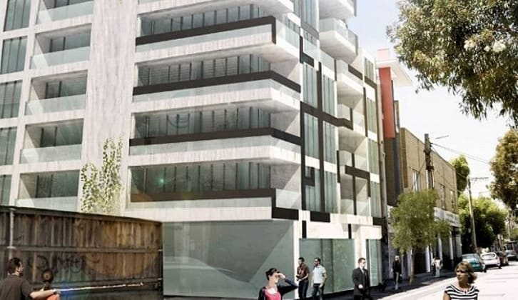 2-4 Vale Street, St Kilda. Image courtesy David Lock Associates