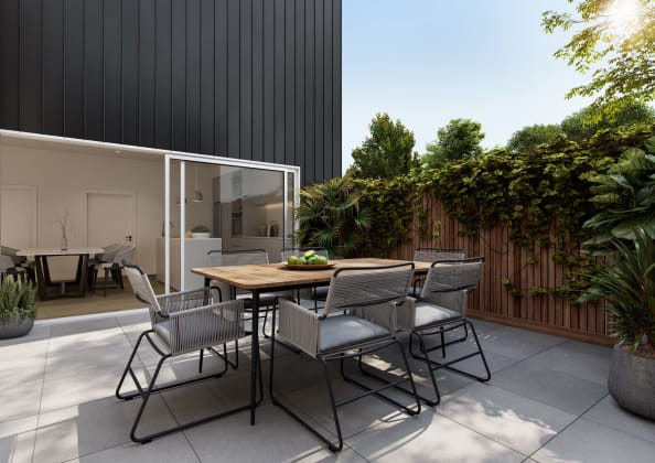 21 Victoria - 21 Victoria Street, Footscray. Image: Nest Projects